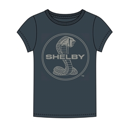 T-Shirt, Shelby, Navy Blue