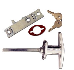 Trunk Handle with Latch, Locking