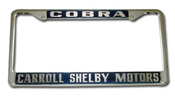 License Plate Frame - Shelby Motors®