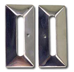 Windshield Side Plates - Escutcheon Plates